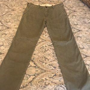 Abercromie Boys 16 khaki green